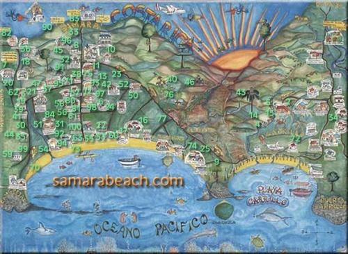 We are located 100 meters west of # 17 ,  100 metros oeste de # 17 Oceanfront